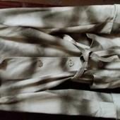 Женский кожаний пиджак