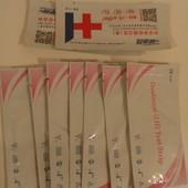 тест на овуляцию, 7 шт + подарок 2 теста на беременность