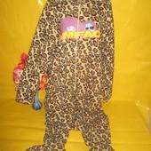 Кигуруми ,комбинезон ,слип, пижама, боди флис грудь 57-63 см Cedar Wood State !!!!