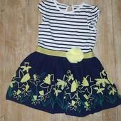 Платье 2-3 года (нюанс на посл.фото)