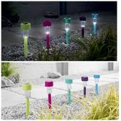 livarno Германия идеально на подарок 5шт фонариков на солнечных батареях