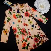 Новое шикарное платье на рост 128