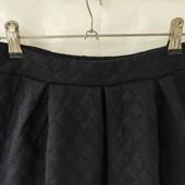Темно-синяя однотонная юбка Miss Lorelli клешированная р.140
