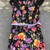 Красивое летнее платье из натуральной ткани