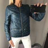 Изумрудная куртка Amisu 36рр На синтепоне.деми сезон Германия