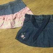 Disney 2 фірмові юбки на 3 /4 роки