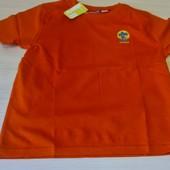 Яскрава оранжева футболка, розмір 134/140 бренд pepperts Германія