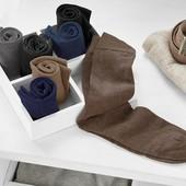 Лот 7 пар!!!!!!!!! Качественные, плотные носки от Tchibo (Германия), размер 44/46
