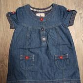 Платье джинсовое 2-3 года.