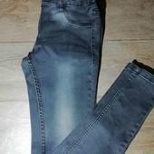 джинсы узкачи Pocopiano на рост 152 см, стильные