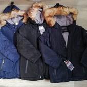 Зима....Куртка на меху для мальчиков Taurus 8/12/14рр.Венгрия