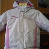 термо Куртка, демисезон, внутри флис, размер 1,5 года 85 см. Wedze. состояние отличное