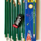 Простые карандаши с теркой. В лоте 12шт. + подарок. Лоты комбинирую.