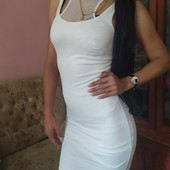 Классное брендовое платье от zara. Для стильной девушки.