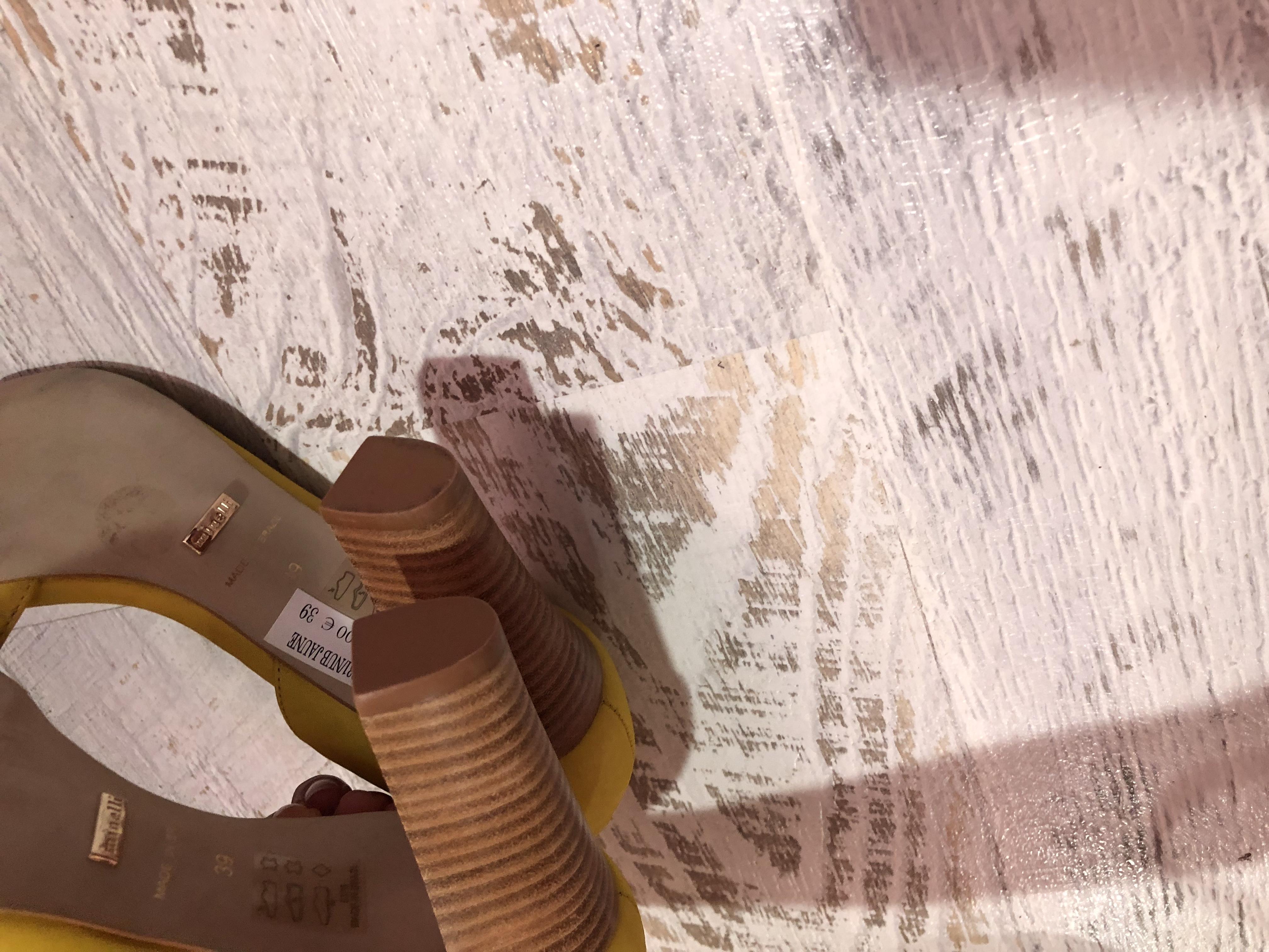 Туфлі із натурального нубука,від Minelli,розмір 37,стелька 24 - Фото №5