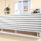 Фирменное ограждение защита штора для балкона Lidl Новое