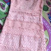 Краса мереживне ажурне платтячко не ношене розмір м