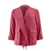 Текстильная ветровка ягодного цвета в стиле casual Tchibo (германия) 100% Lyocell, размер 38 евро=44