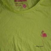 Яркая футболка 140 см (без бумажной бирки)