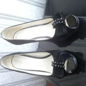 Туфли замшевые. 37 размер