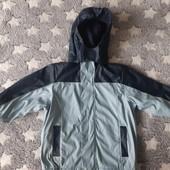 Куртка непромокайка на флисе размер 98