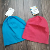 Трикотажна шапка, one size, Польща, в лоті блакитна))))
