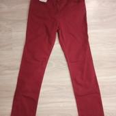 Фирменные новые красивые коттоновые джинсы р.10-12
