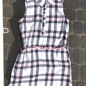 Фирменное платье -рубашка.в идеале