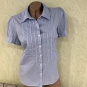 Шикарная блуза/рубашка John's Bay, сток люкс! В составе 97% хлопка