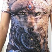 Яркие молодёжные 3D футболки. Турция