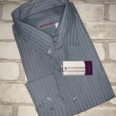Крутая мужская рубашка Bossado размер XXL,смотрим мерки!
