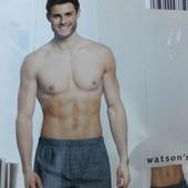 Лот-2шт.! Качественный набор, мужские трусы Watsons, р. S