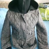 тепленькая стеганная куртка