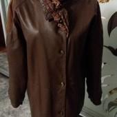 """Куртка """" Vera Pella"""" ( Италия) нат. кожа.. евро.размер 44-46 ( наш 50-52)"""
