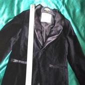 Zara 5лет велюровый роскошный пиджак