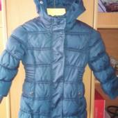 Куртка, еврозима, внутри флис, р. 2 года 92 см, Palomino.. состояние отличное
