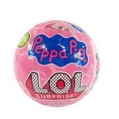 Кукла Lol Surprise Peppa Pig в шаре