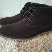 Мужские стильные деми ботинки Cedar Wood, размер 40 (стелька 27 см). Сток!
