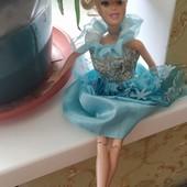 Mattel, Золушка оригинал, ножки шарнирные в красивом платье