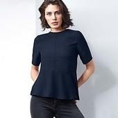 Стильная блуза с воланом Tchibo (Германия), размер евро 44 (наш 50)