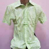 cтильные мужские рубашки Турция, коттон, размер М