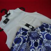 Блузка Next White размер S-M