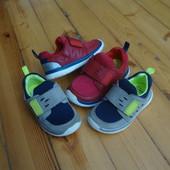 Кроссовки Clarks Red 24-25 разм (синие с серым )