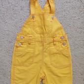 Модные детки! Яркий джинсовый комбинезон на рост 98 см