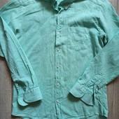 Рубашка хлопок+ лен.