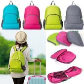 сумка-рюкзак трансформер в лоте ,розовый цвет