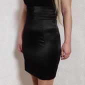Чёрное платье-бандо Tally Weijl