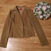 Вельветовый пиджак без дефектов S/M уп 15%, нп 5% скидка!