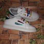 ❤️ Модные кроссовки в отличном состоянии 19,5см❤️Смотрим и другие лоты
