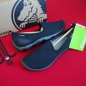 Мокасины слипоны Crocs оригинал 35-36 размер W5